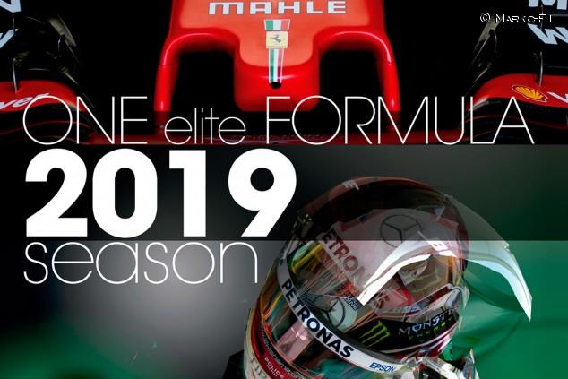 Marko-F1 presenta 'One Elite Formula', un anuario diferente sobre 2019 - SoyMotor.com