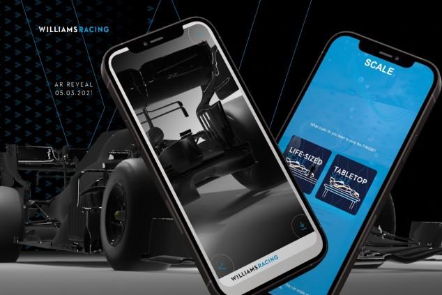 Williams presentará su FW43B de 2021 en realidad aumentada - SoyMotor.com