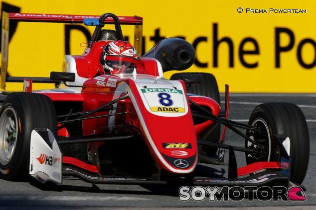 Marcus Armstrong en Alemania – SoyMotor.com