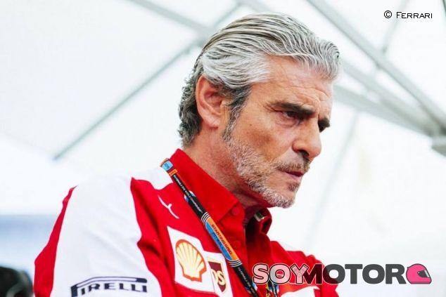 Maurizio Arrivabene no pudo ocultar su disgusto tras la carrera - LaF1