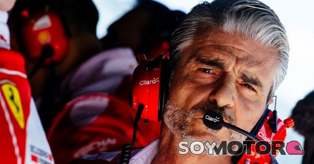 Arrivabene, durante el GP de México - LaF1