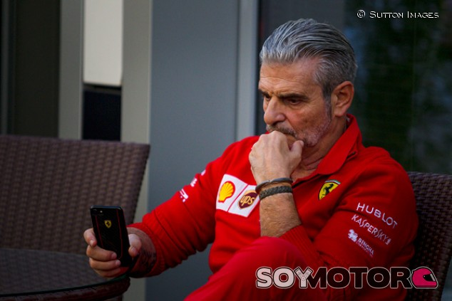Maurizio Arrivabene en Sochi - SoyMotor.com