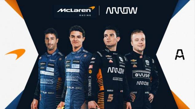 McLaren y Arrow seguirán juntos varios años más en IndyCar y F1 - SoyMotor.com