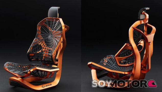 Kinetic Seat concept: el asiento del futuro según Lexus