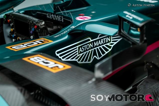 Detalle del Aston Martin AMR21 - SoyMotor.com