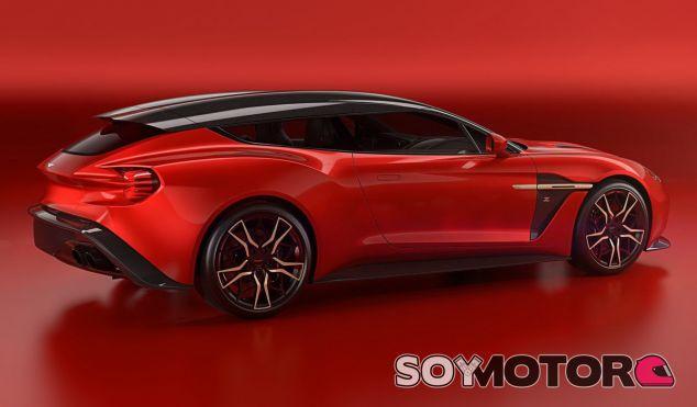 El Aston Martin Vanquish Zagato Shooting Brake presenta el diseño más arriesgado de la familia - SoyMotor