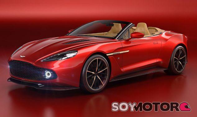 Tras presentar el Aston Martin Vanquish Zagato en Villa d'Este, la versión Volante llega en Pebble Beach - SoyMotor