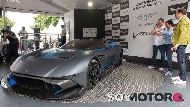 Presentación en Goodwood del Aston Martin Vulcan - SoyMotor
