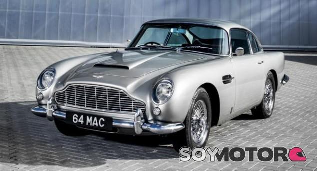 Aston Martin DB5 - SoyMotor.com