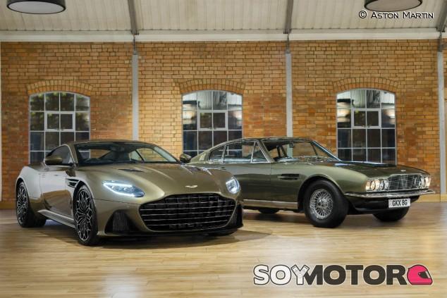 Aston Martin DBS Superleggera: 50 años de '007, al servicio de su majestad' - SoyMotor.com