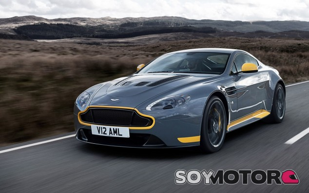 Estamos ante el último exponente del Aston Martin V12 Vantage S - SoyMotor