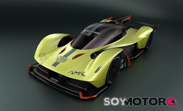 Las fotos corresponden al recién presentado Aston Marton Valkyrie Pro - SoyMotor