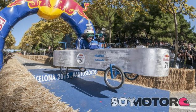 Autos Locos Red bull Barcelona 2015