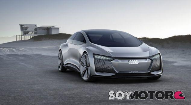 Audi Aicon concept: el primero sin volante ni pedales - SoyMotor.com