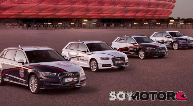 Audi personaliza cuatro modelos con los colores de varios equipos - SoyMotor