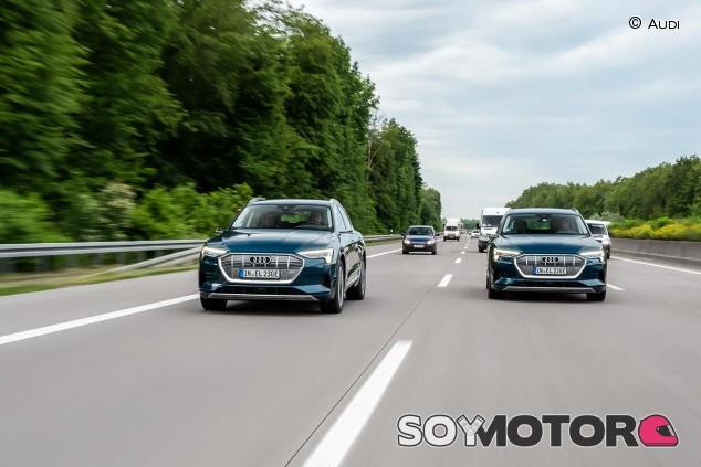 Audi e-tron en su ruta por Europa - SoyMotor.com