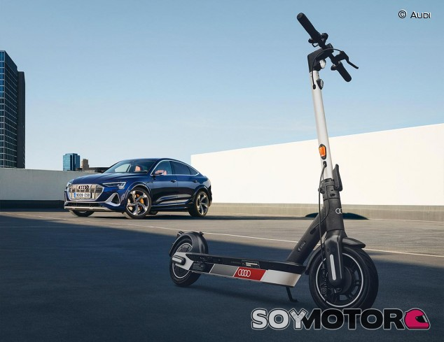 Audi electric kick scooter powered by Segway - SoyMotor.com