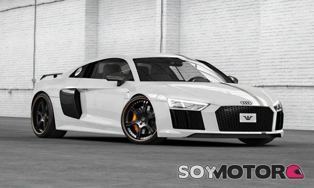 Las prestaciones del Audi R8 de Wheelsandmore son su gran carta de presentación - SoyMotor