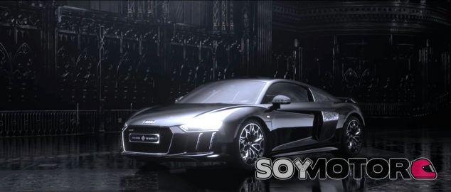 El único Audi R8 V10 Plus edición especial 'Final Fantasy' - SoyMotor.com