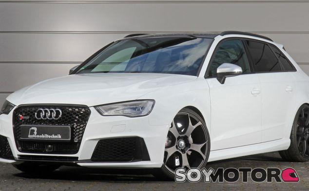 Este Audi RS3 no tiene nada que envidiar a los más granados superdeportivos - SoyMotor