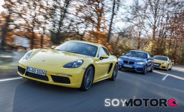 Hockenheim decide entre los Audi TTS, BMW M240i y Porsche 718 Cayman (Foto: Achim Hartmann - AMuS) - SoyMotor