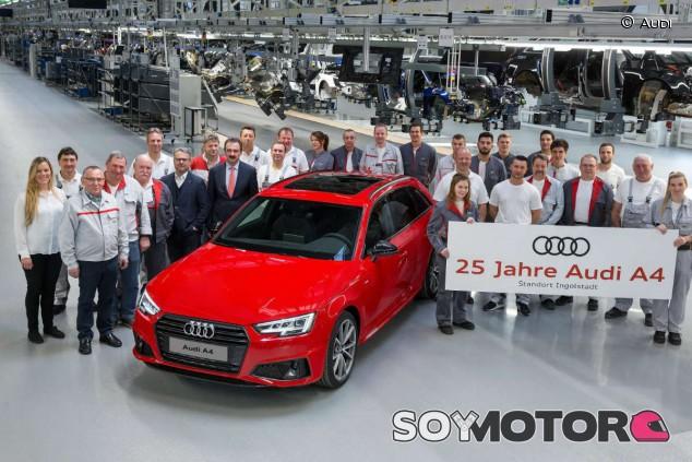 Audi A4: 25 años del modelo más popular de la marca - SoyMotor.com
