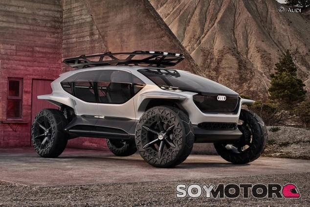 Audi AI:Trail quattro: un concept entre buggy y 'off road' - SoyMotor.com