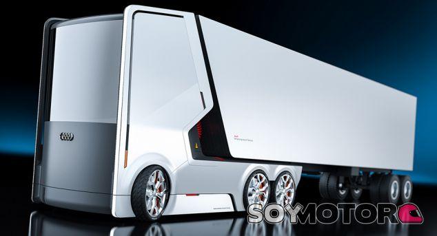 Imaginación al poder: Si Audi hiciera un camión eléctrico - SoyMotor.com