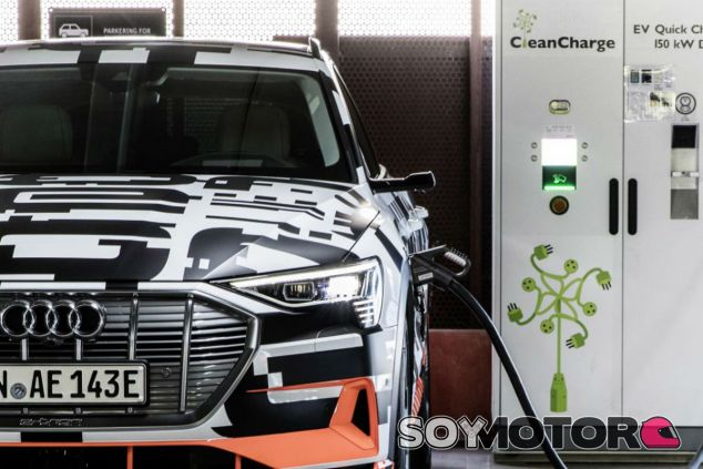 Audi e-tron Charging Service - SoyMotor.com