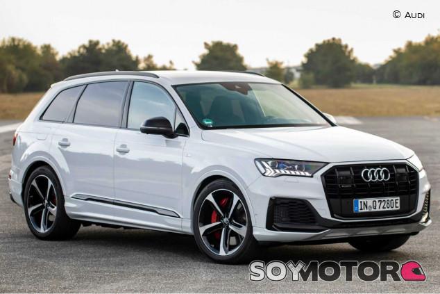 Audi Q7 2020: retoque de imagen e hibridación - SoyMotor.com