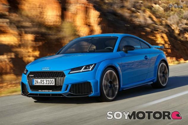 La actual generación del Audi TT estará vigente hasta 2021 - SoyMotor.com