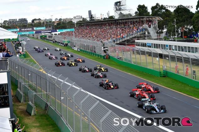 Salida del GP de Australia 2018 c2aa1c129c7