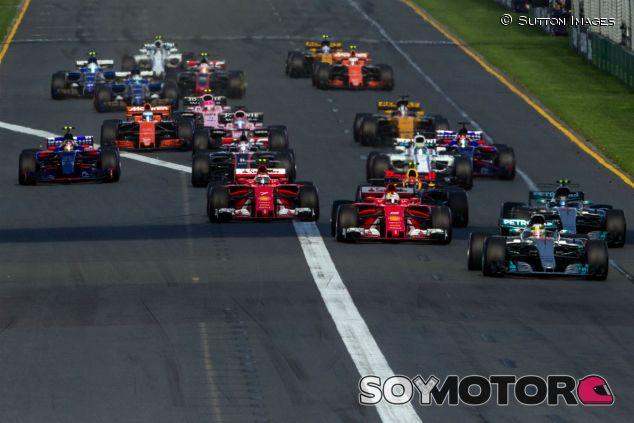 Salida del Gran Premio de Australia F1 2017 - SoyMotor.com