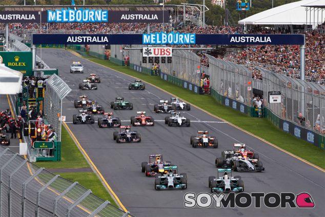 Salida del Gran Premio de Australia F1 2014 - LaF1