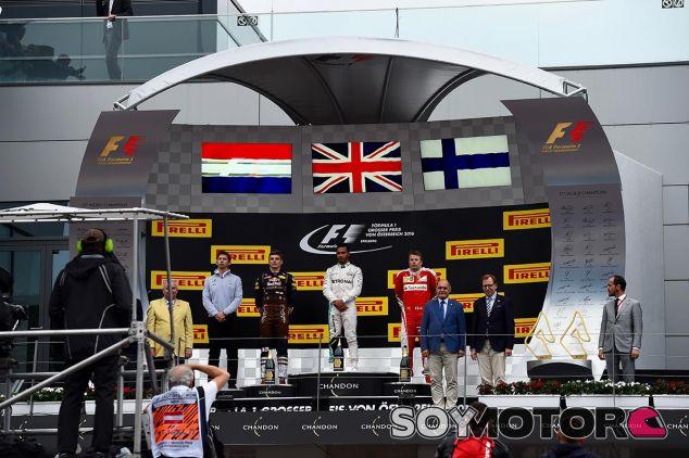 Podio del GP de Austria - SoyMotor