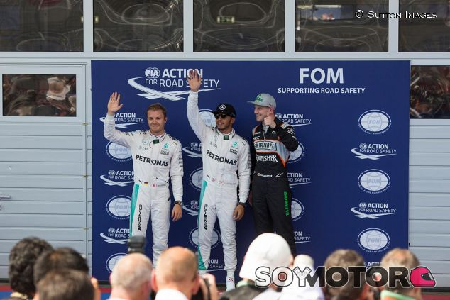 Pole de Hamilton en Austria - SoyMotor