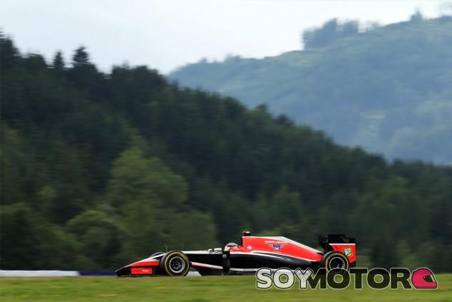 Marussia en el GP de Austria F1 2014: Viernes