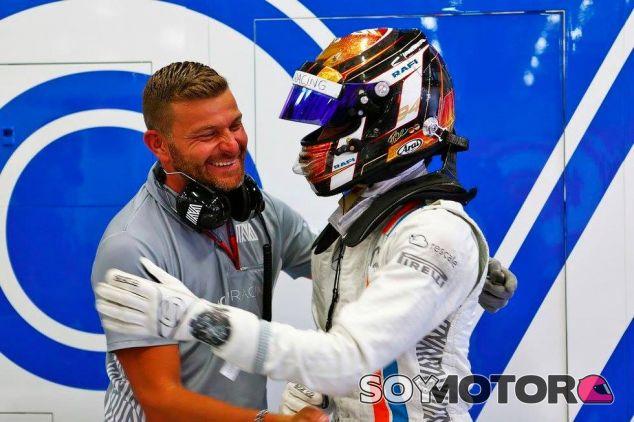 Pascal Wehrlein celebra su resultado en la clasificación de Austria - LaF1