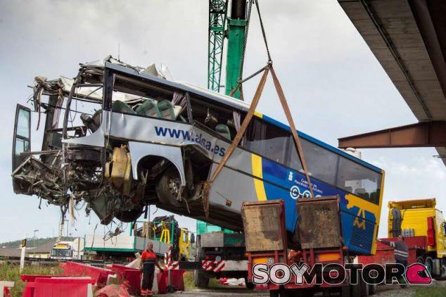 Accidente de autobús de Avilés - SoyMotor.com