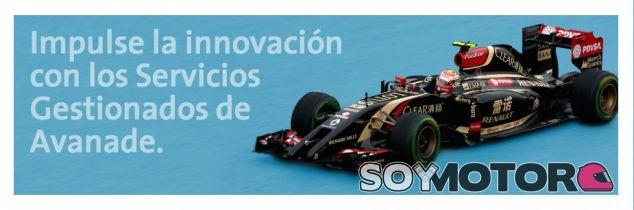 'Salta' otro patrocinador de Lotus a Williams: es el turno de Avanade