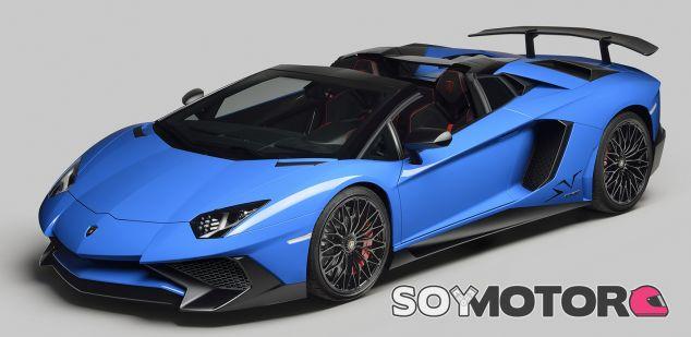 Lamborghini Aventador SV Roadster -SoyMotor