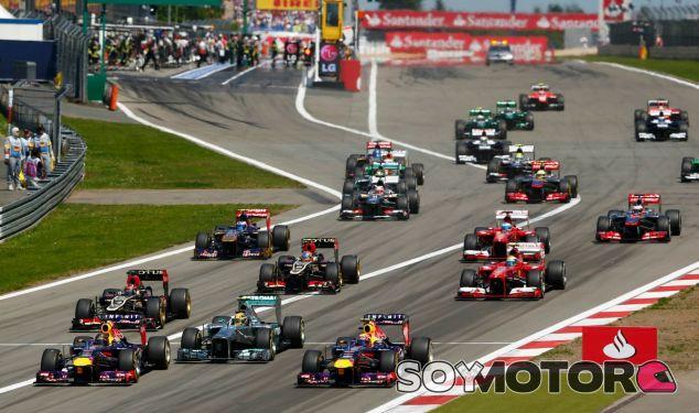 Última salida de un Gran Premio en Nürburgring - LaF1