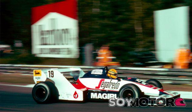 Ayrton Senna a los mandos de su Toleman - LaF1