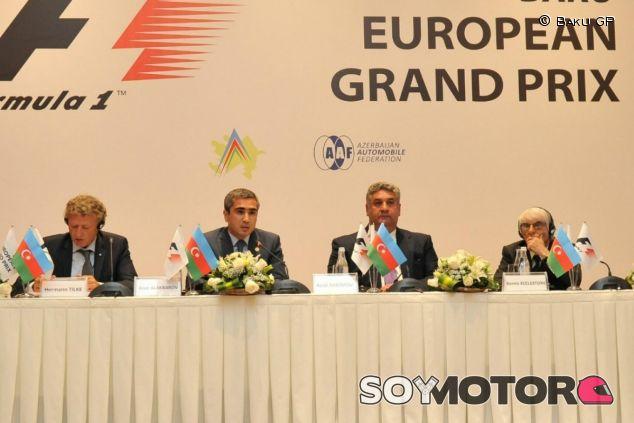 Bakú tendrá una capacidad de 28.000 espectadores en su primer año - LaF1