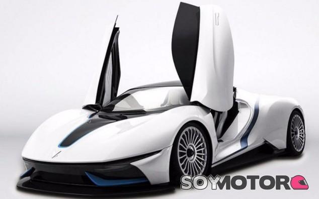 El equipo técnico de Campos Racing y BAIC han desarrollado este deportivo en Barcelona - SoyMotor
