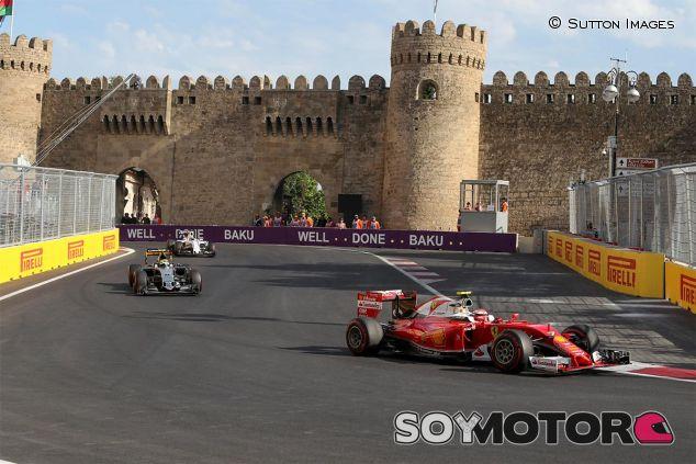 Kimi Räikkönen en Bakú - SoyMotor