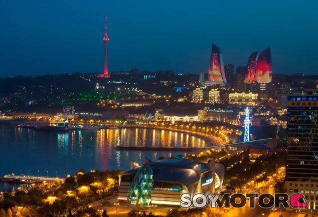 Además de espectacular, el circuito urbano de Bakú será rápido - LaF1