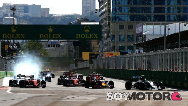 Imagen del GP de Bakú esta temporada - LaF1