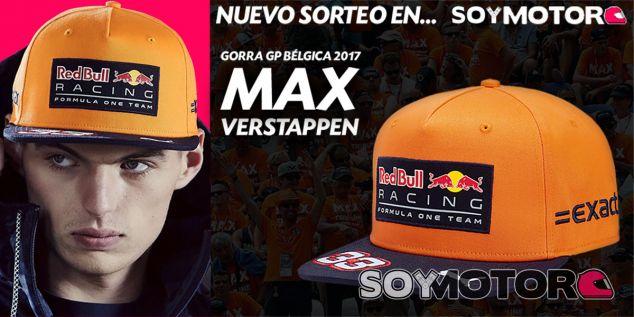 SORTEO TIENDA: Gorra Max Verstappen edición GP de Bélgica - SoyMotor
