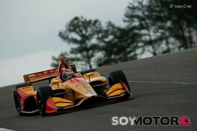 Ryan Hunter-Reay en Barber Motorsport Park - SoyMotor.com